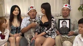 Amazing Japanese model Ryoko Murakami, Aya Kiriya, Tiara Ayase in Horny JAV scene