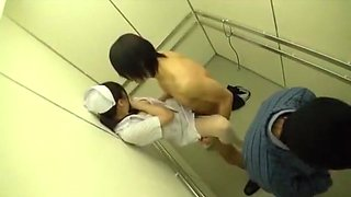 Exotic Japanese slut Mirei Shiratori, Miharu Izawa, Azusa Maki in Fabulous Doggy Style, Stockings JAV video