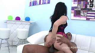 Alex Black Interracial Gangbang