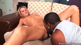 Horny milf getting her first monster black cock ever and
