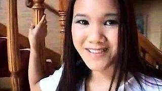 Thai girl tia Thai homemade 2014 scense 4