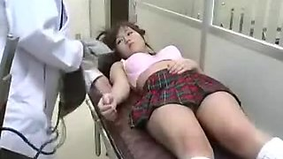 Cute Asian Schoolgirl Spreads Her Legs And Gets Her Hairy S