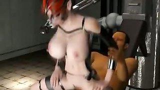 Crazy hardcore 3d orgy fuck video