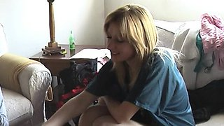 Teen HOTTIE real FIRST casting and hardcore