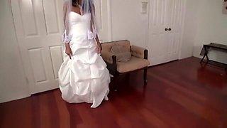 Hot bride in hot POV scene