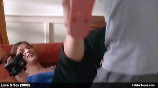 Famke Janssen lingerie and erotic movie scenes