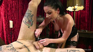Veruca James & Ruckus in Disobedient Masturbating Slave Punished And Fucked With A Fat Cock - DivineBitches
