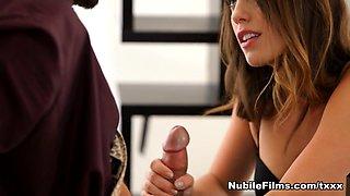 Jade Nile in Sensual Seduction - NubileFilms