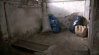 Garbage bag slave storage