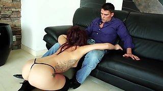 Crazy pornstar Mischa Brooks in fabulous redhead, hd adult clip