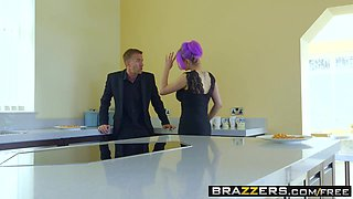 Brazzers - Real Wife Stories - Jasmine James Skyler Mckay Danny D and Keiran Lee - The Dinner Invitation