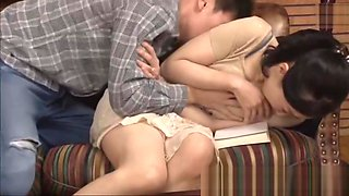 Japanese mom rough sex with son a perv story