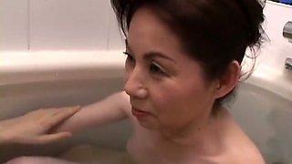 Fabulous Japanese girl in Amazing Bathroom, Uncensored JAV clip