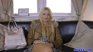 Classy british babe pussy screwed by old man