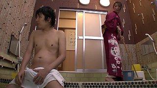 Exotic Japanese girl in Crazy Fetish, Shower JAV scene
