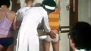 Naked Butts Boarding school - Doctor examines and fucks