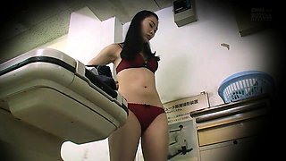 Cute Asian girl with perky titties gets nailed on hidden cam