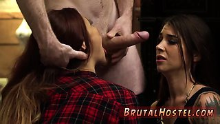 Extreme domination hd Excited young tourists Felicity Feline and Jade Jantzen are