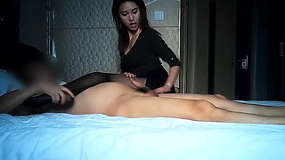 Hot Thai Chick Fucked in Private Room