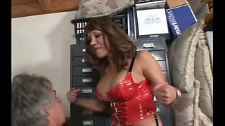 This old fart is indeed Ava Devine's oral slave and this beauty is so hot
