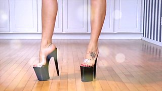 Queenregina high heel