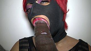 Dominican Lipz Makes BBC Cum Twice Aftere Sloppy Head