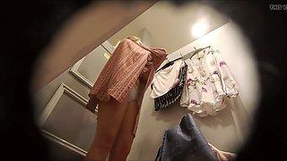 Dressing room, big panties