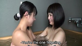 JAV homemade first time lesbians bath foreplay Subtitles