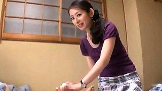 Sensual oriental chick Miku Hasegawa gets nailed