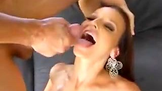 Brunette Milf Lexi Luna Loves Big Cock And Jizz