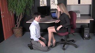 Femdom Secretary