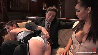 Steve Holmes  Isis Love  Amber Rayne in Subservient Wife - SexAndSubmission