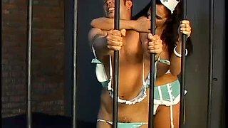 Submissive crossdresser gets his butt slapped hard by Gianna Michaels