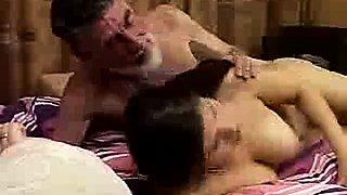 niece FUCKS WITH Not HER GRANfather (estefania)
