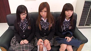 Naughty School Girls Explore Their Desires