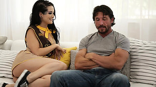 Scout leader emo teen Katrina Jade fucked by a daddy