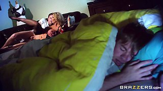 Caught Sniffing His Friend's Mom Panties