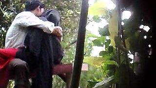 Sweet Indian babe has sex with her boyfriend on hidden cam
