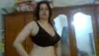 My sexy and chubby Arabic wife can't live without sex