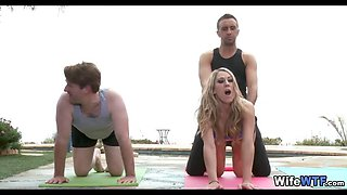 yoga wife cheats with her instructor