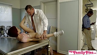 Daughters Tight Pussy Makes Him Cum Inside Her Hole S2:E2