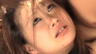 Incredible Japanese chick in Hottest Blowjob, Slave JAV scene