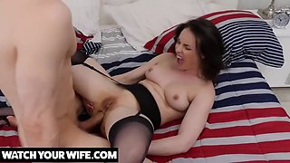 Naughty america your wife casey calvert gets anal fucked!!!!