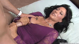 Sweet Milf Strokes Drivers Hard Cock POV