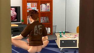 3D Bokuane sister sex