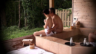 Cuckold Fuck In A Japanese Onsen Spa 1-03