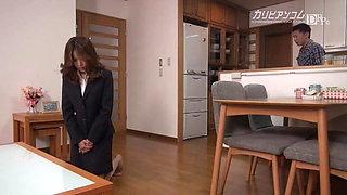 Beautiful Office Lady Handling Claim with Her Body Rin Yuuka