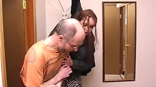 Grandpa Fucks Young Teen In The Shower