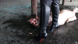 Face Under Her Boot. Preview.