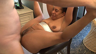 Mahogany Anal Housewives getting fucked hard